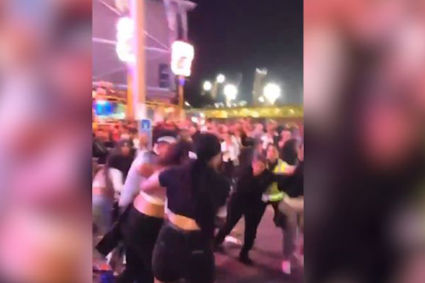 Article image for WATCH | Brawl breaks out at Sydney Royal Easter Show