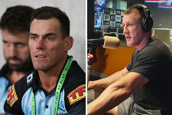 Article image for 'Pretty harsh': Paul Gallen reacts as Sharks drop 'personal friend' John Morris