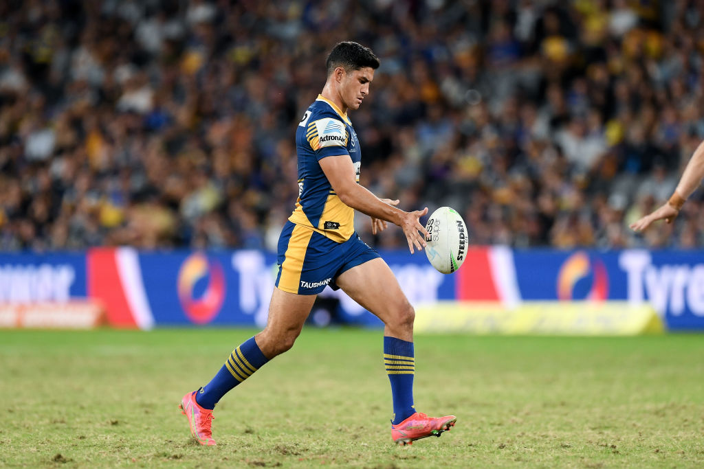 Article image for 'He's a real competitor': Parramatta coach hails five-eighth instincts