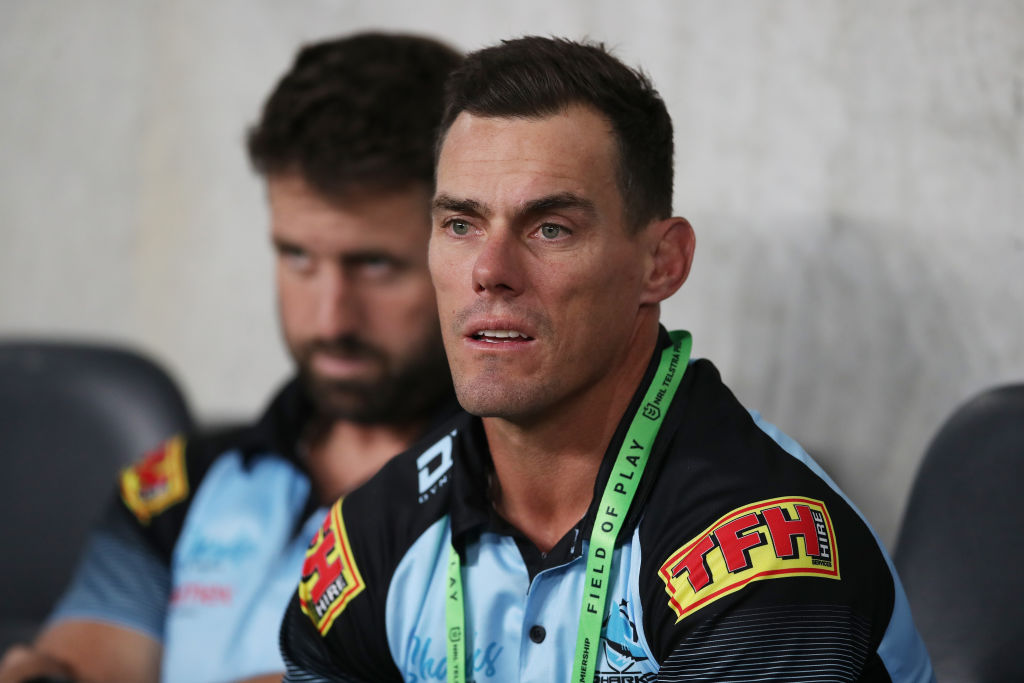Cronulla Sharks oust coach John Morris, bring in Craig Fitzgibbon