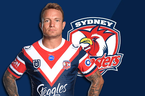 Article image for Andrew Johns commends Roosters' 'true warrior' Jake Friend