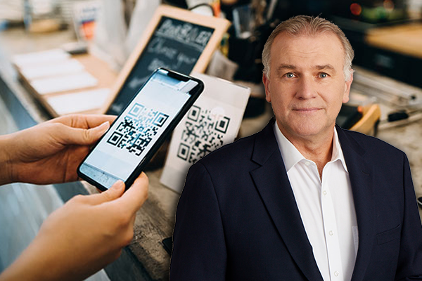 Article image for Telemarketer's QR code claim sparks vehement denial from Minister