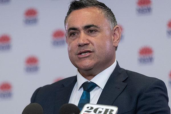 John Barilaro blasts QLD's 'act of bastardry' against NSW over Olympics funding