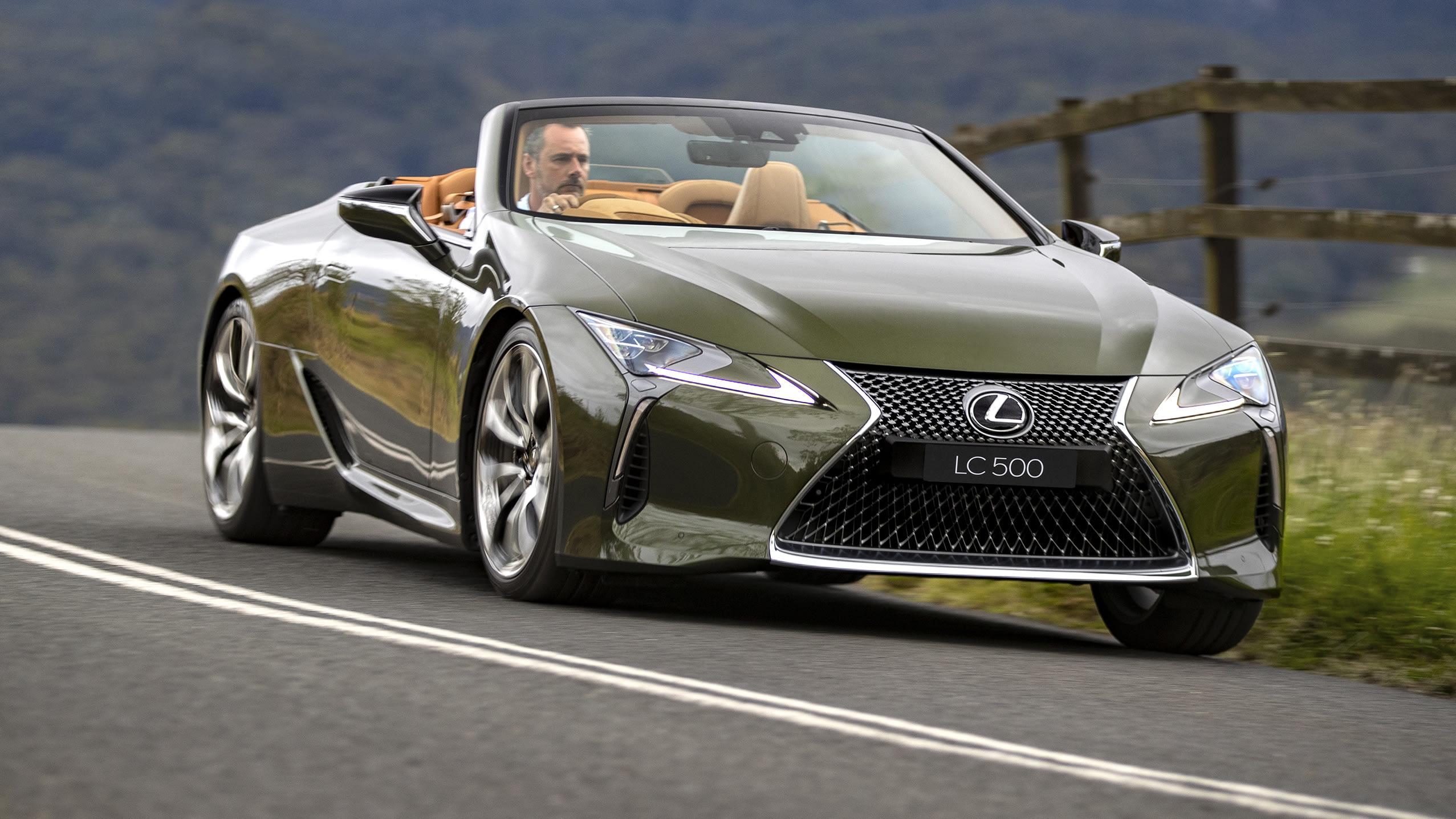 Lexus LC500 convertible – simply stunning