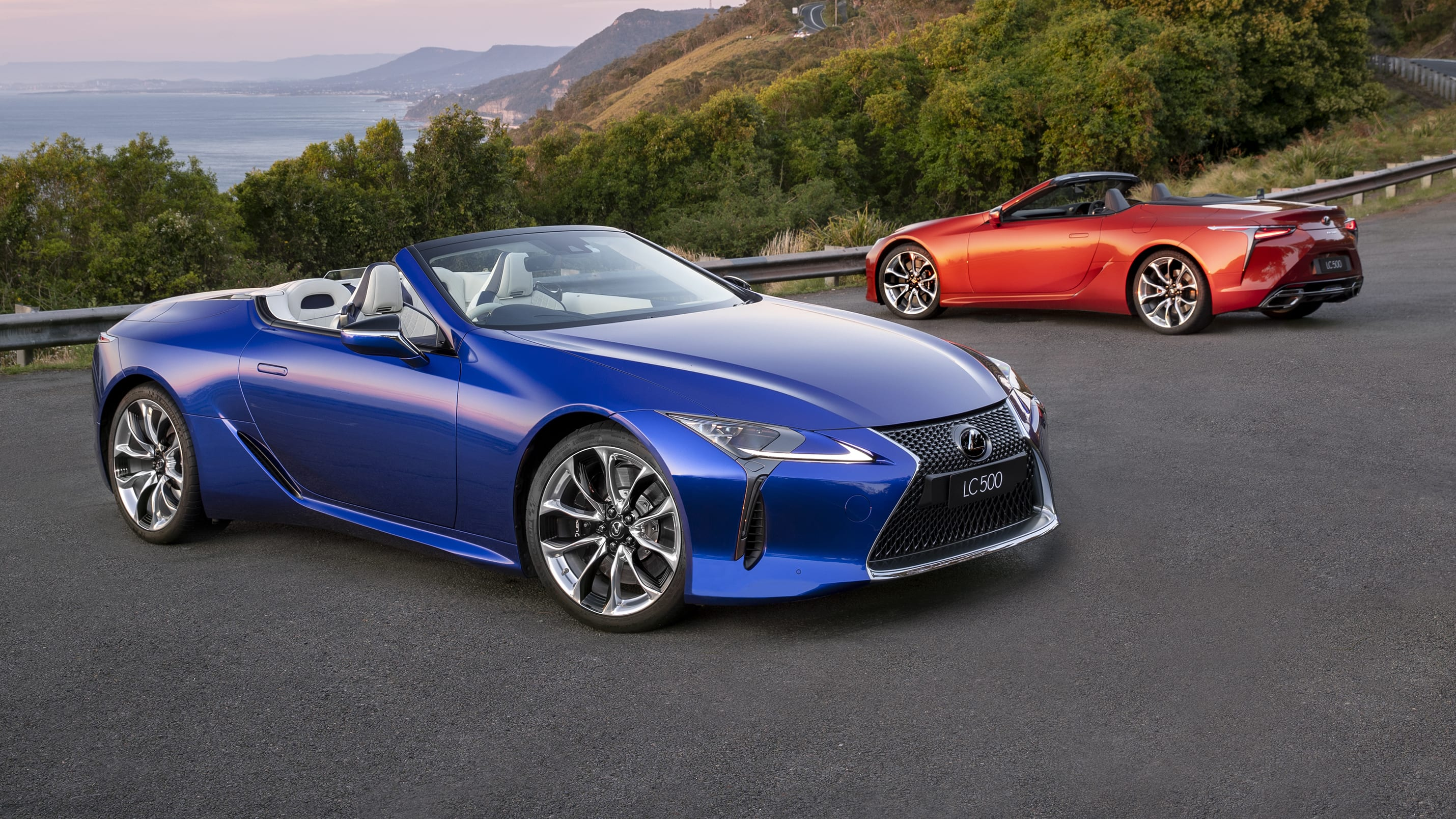Lexus LC500 convertible – beautifully crafted