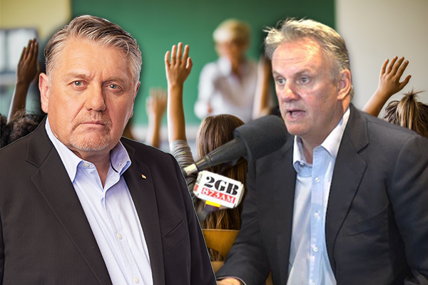 'You're making that up': Mark Latham drops bombshell on Ray Hadley