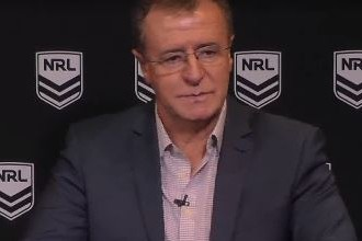 Graham Annesley admits Lachlan Lewis should have been taken off immediately