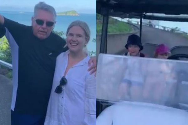 'He saved our lives!': Ray Hadley 'rescues' Hamish Blake's kids