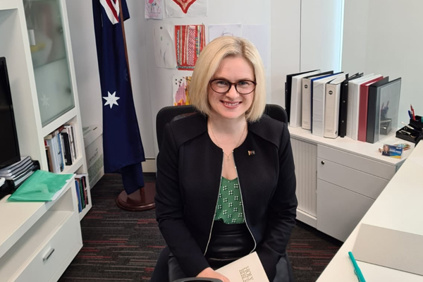 'It's utter nonsense': Assistant Women's Minister rejects Grace Tame's criticism