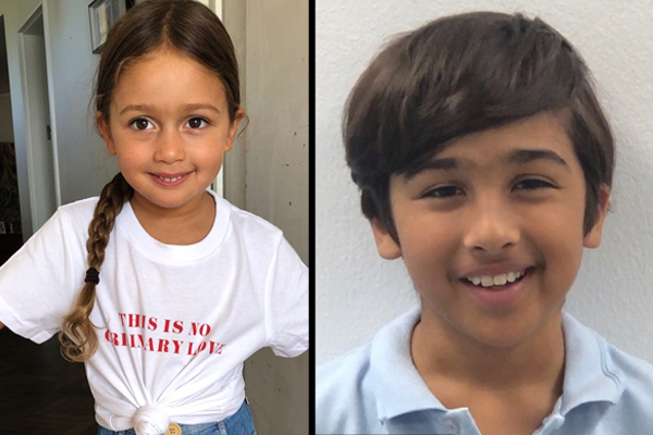 Two missing children found and reunited with family