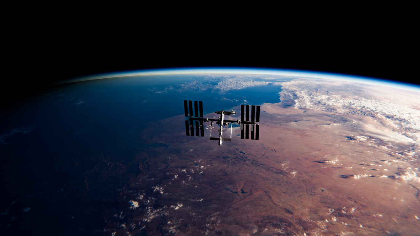 Article image for 'Surreal' transmission connects students with space-faring astronauts
