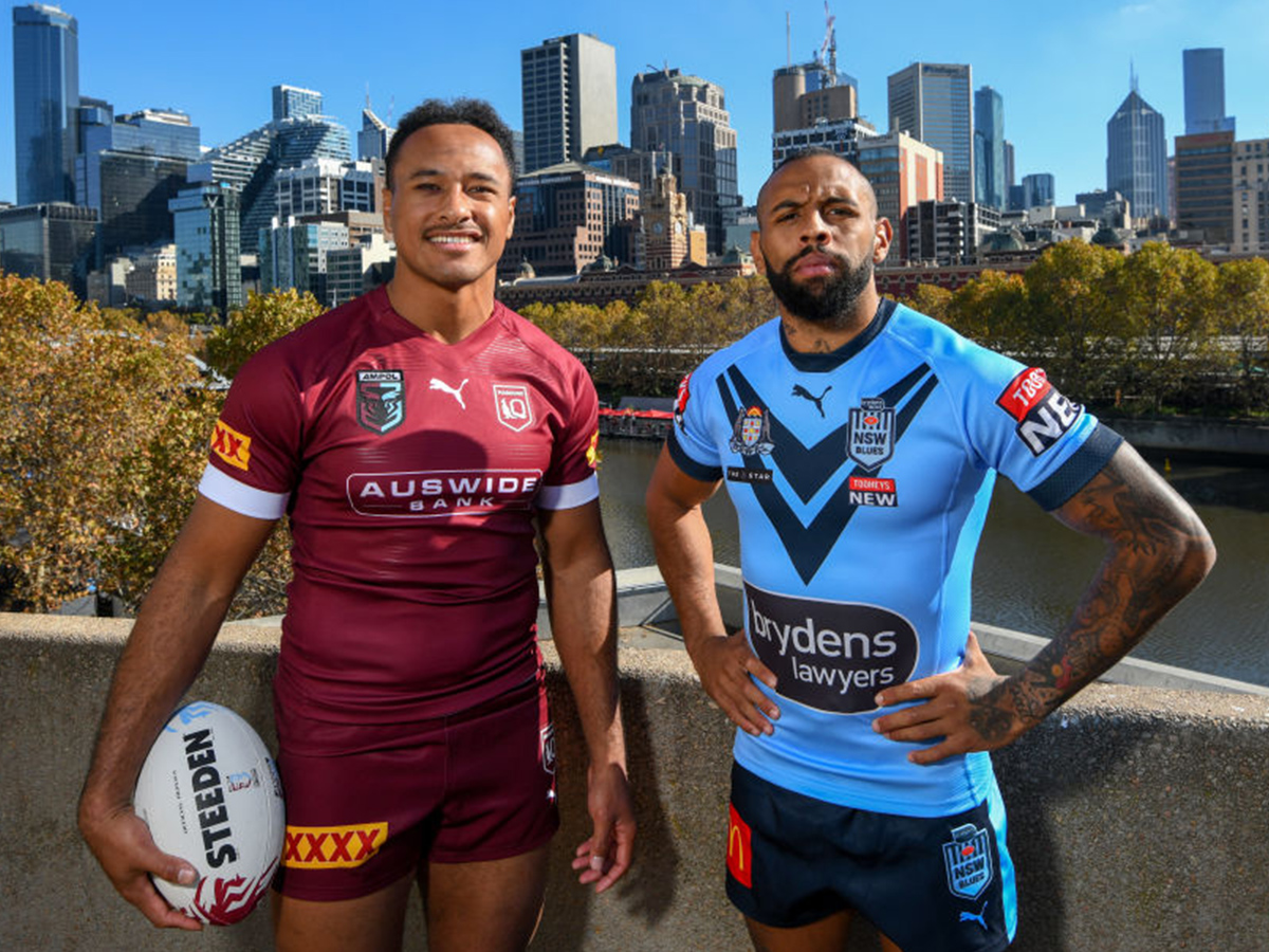 Article image for Billy Slater admits Maroons up against 'formidable' Blues squad