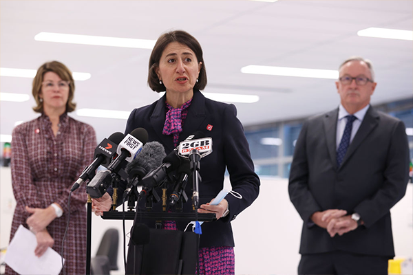 Reports of discord in NSW cabinet over restrictions 'just silly stuff'