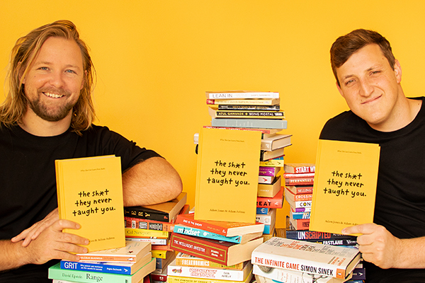 Article image for Podcasters turn to the written word to immortalise life lessons