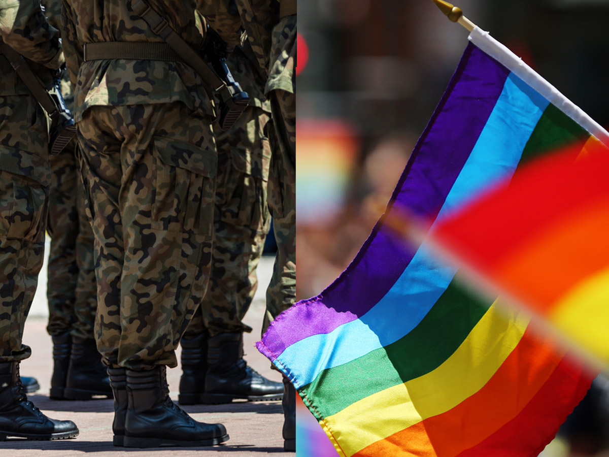 Article image for Defence Minister 'jams it to generals' over LGBT+ self-censorship