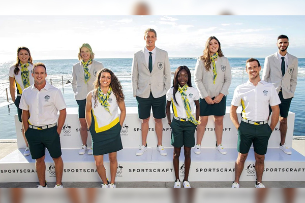 Article image for Pass or fail? | Australia's Olympic uniform revealed