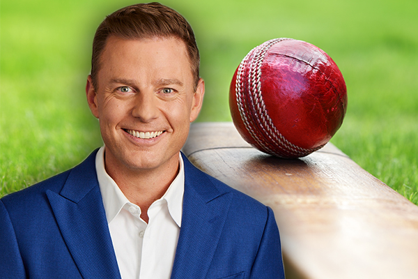 Ben Fordham goes into bat for under fire cricketer