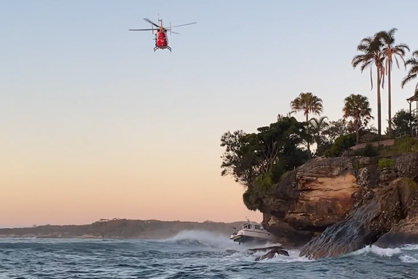 Article image for Man dies after boat crashes into rocks at Port Hacking