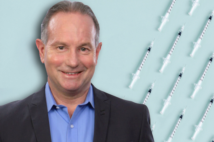 Article image for Ray Hadley enlists help of Dr Ross Walker to bust vaccine myths