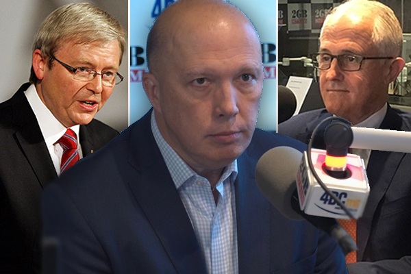 Article image for 'It's a sad existence': Peter Dutton launches into former prime ministers