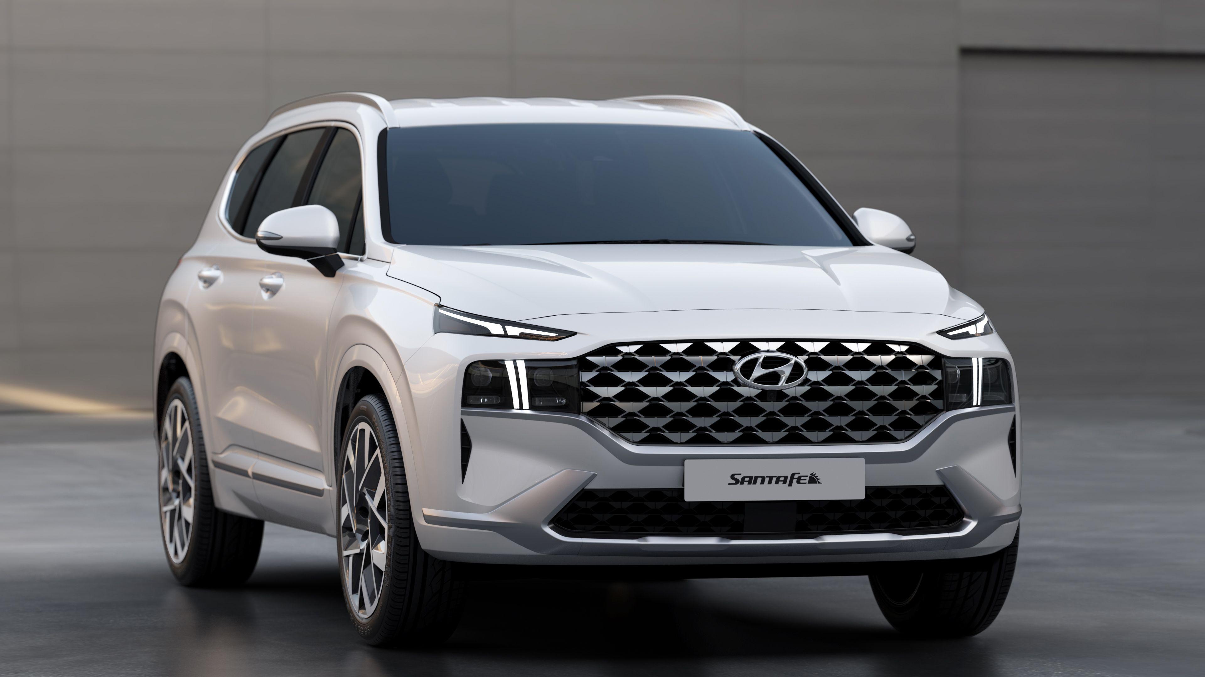 Hyundai Sante Fe SUV - 1