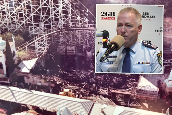 Police Commissioner adamant Luna Park Ghost Train tragedy to be investigated