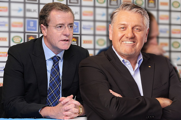 Article image for Ray Hadley gives record-breaking ref 'some ammo' against boss Graham Annesley