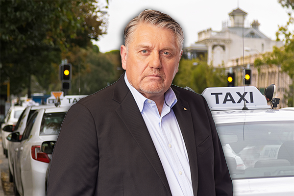 Article image for Ray Hadley fears rideshare free-for-all in event of taxi extinction