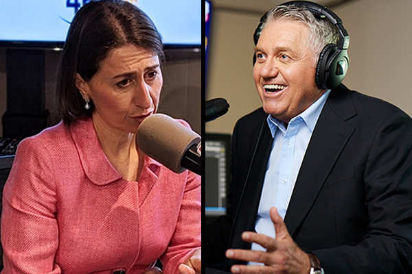 Ray Hadley praises Premier for 'best decision she's ever made'