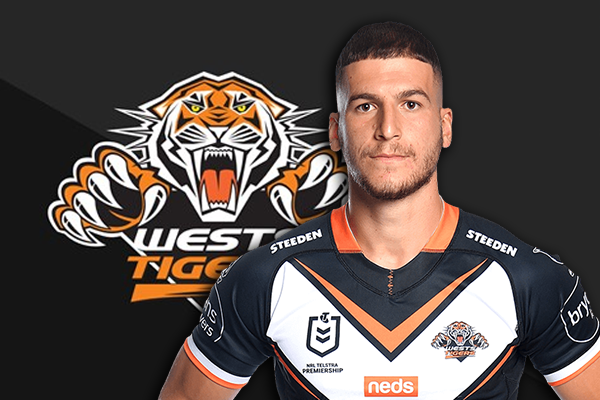 Article image for 'Dominant figure' Adam Doueihi taking control at Wests Tigers