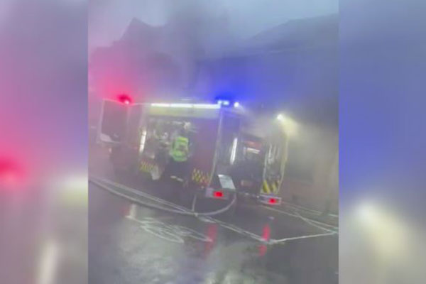 Firefighters in hospital after blaze breaks out at Balmain candle shop