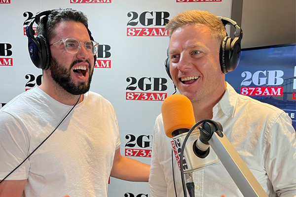 Article image for Ben Fordham belts out 'winner' vaccine campaign song live on-air
