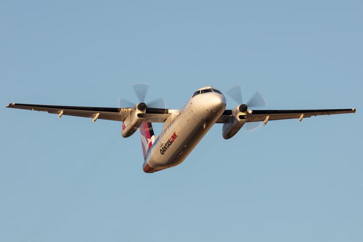 Qantas plane makes emergency landing at Brisbane Airport