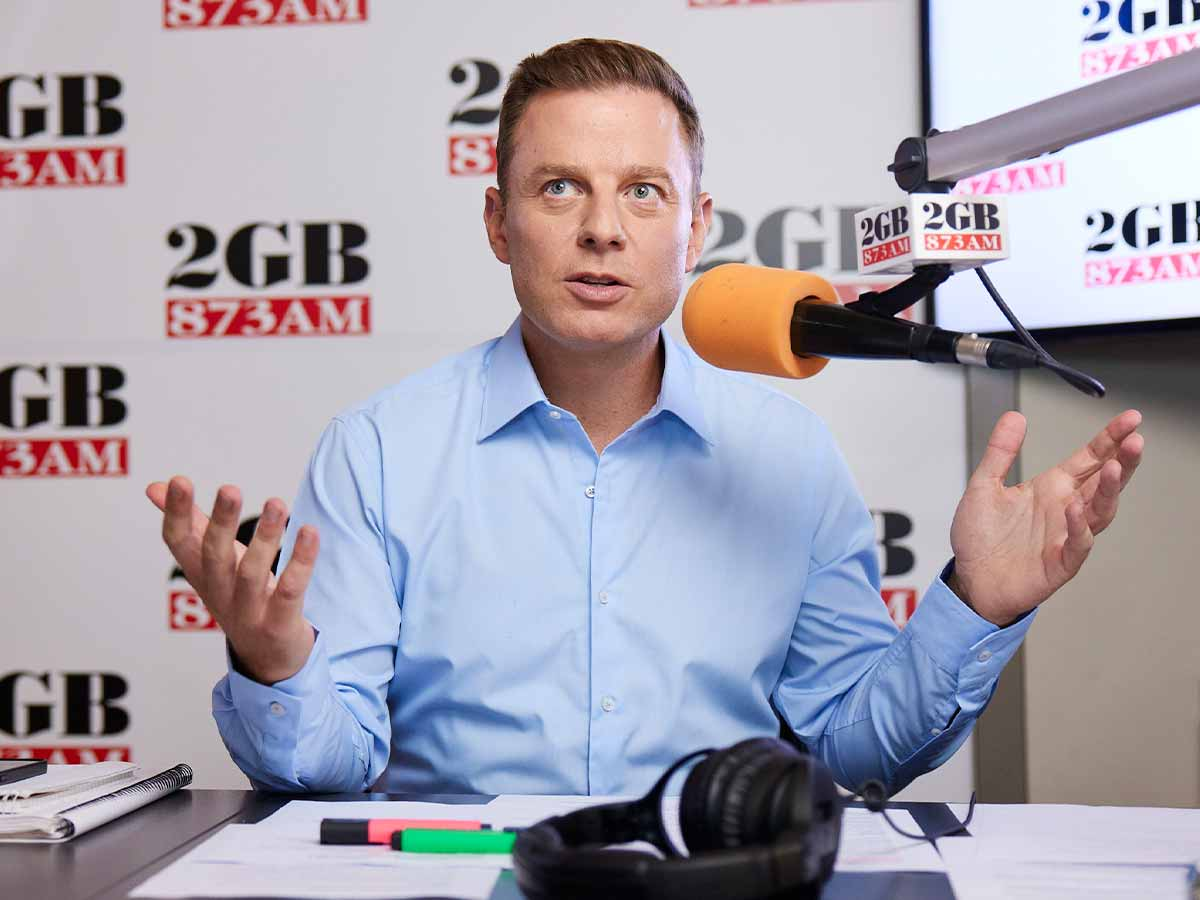 Ben Fordham blasts 'losers' after former deputy PM cancelled