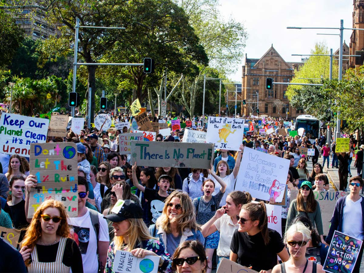 Article image for Warning for motorists as Sydney CBD shut down for school climate strike