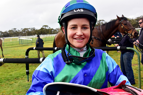 Article image for Melbourne Cup winner Michelle Payne shares key to succeeding in 'tough career'