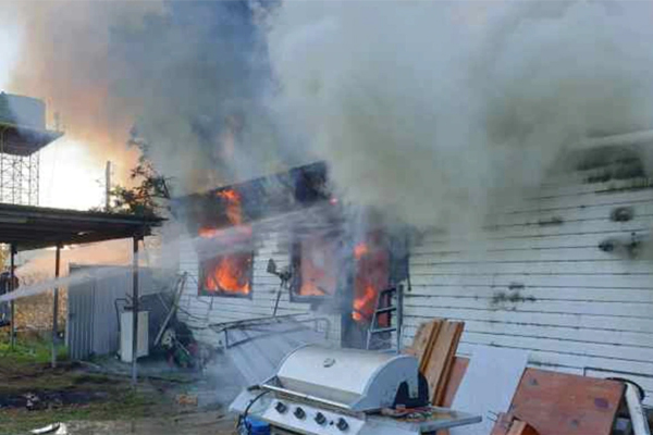 Mouse plague sends family home up in flames