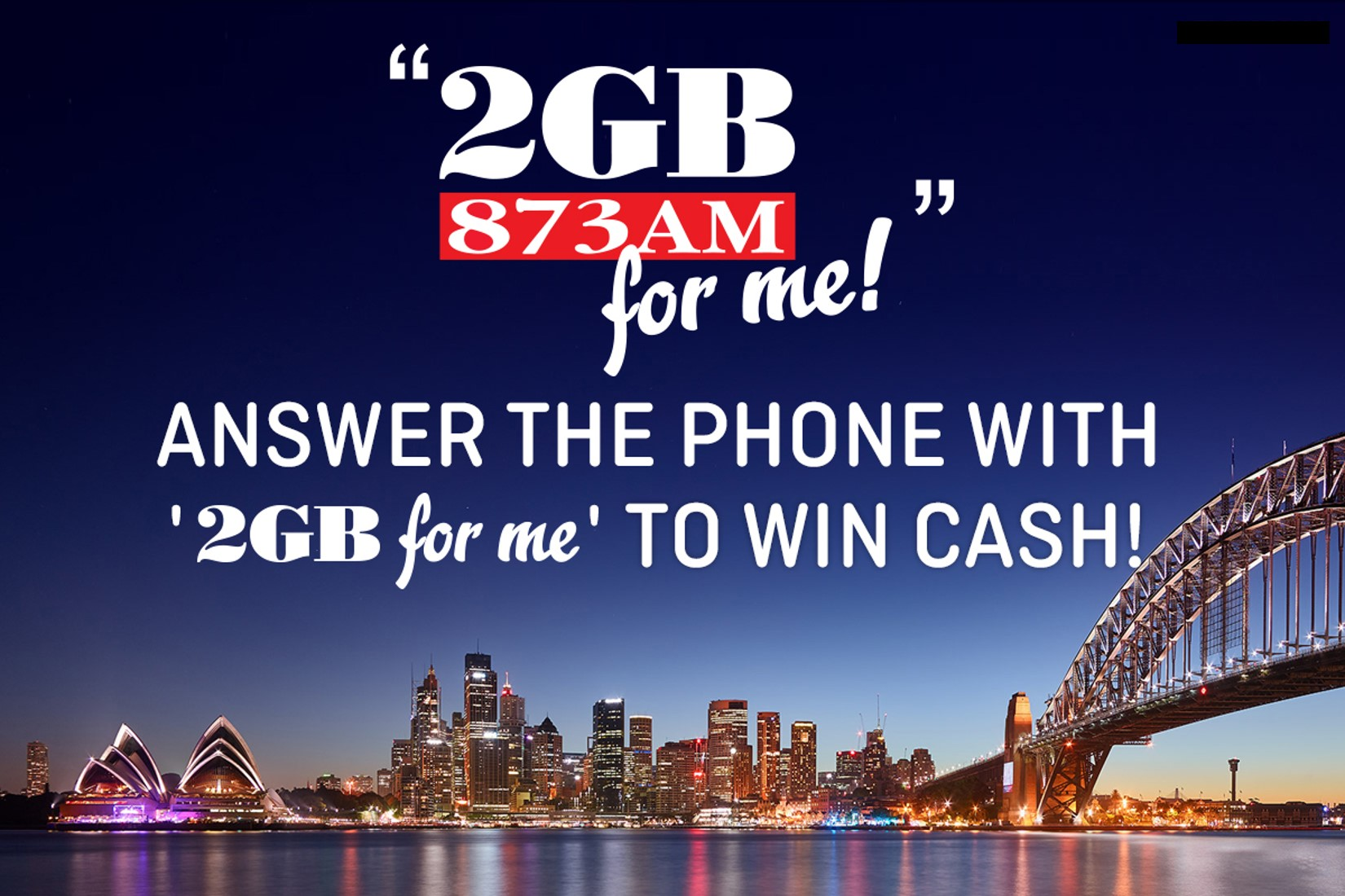Win Cash with 2GB for Me!