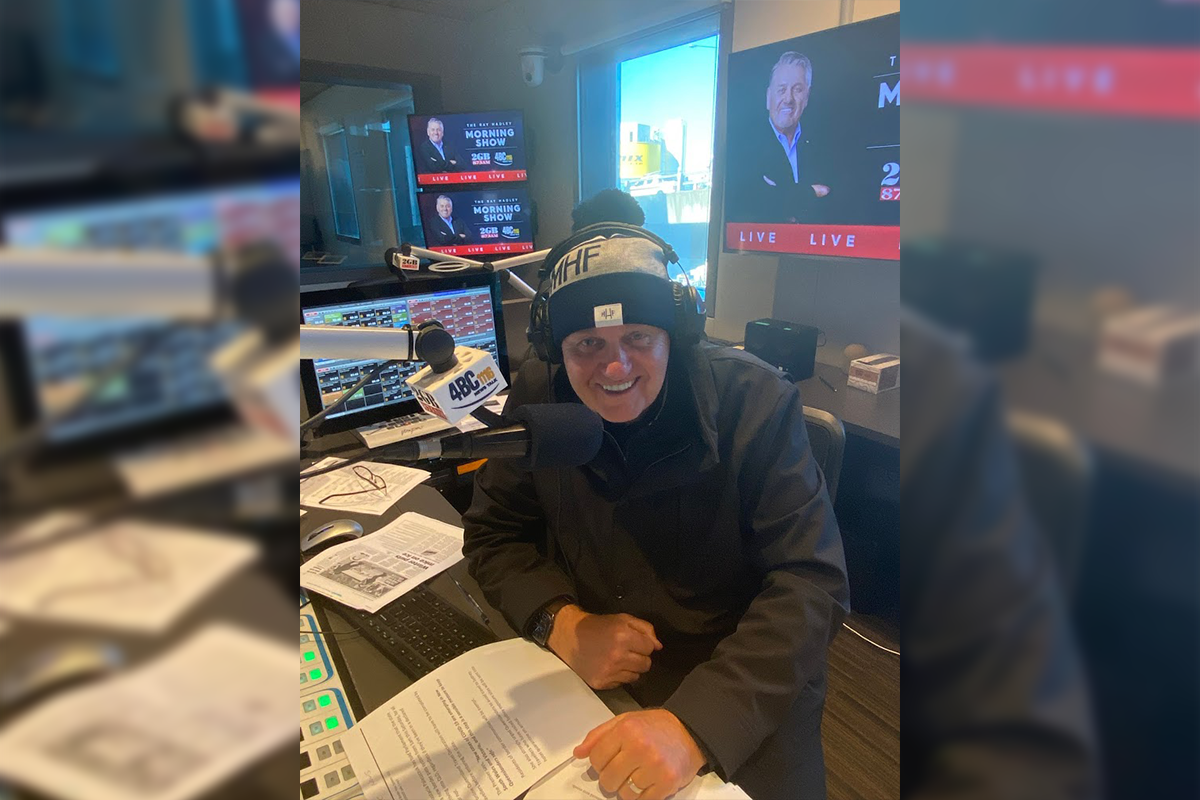 Article image for Ray Hadley buys up beanie stocks for brain cancer