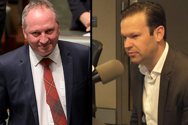 Senator supports 'strong fighter' Barnaby Joyce as he's sworn in as Deputy PM