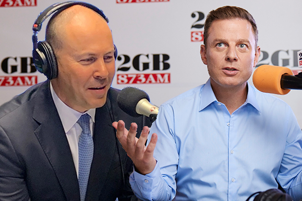 'Why are you laughing?': Ben Fordham presses Josh Frydenberg