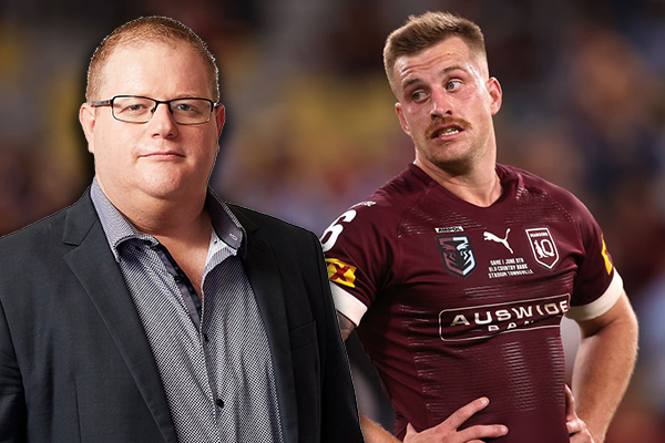 Article image for Mark Levy fires up over 'disgraceful' punishment for Cameron Munster
