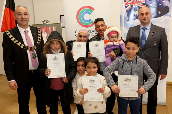 Article image for Cumberland Council welcomes record number of new Australians
