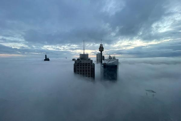 Article image for PHOTOS   Heavy fog blankets Sydney