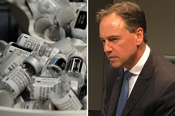Article image for New advice for AstraZeneca 'most cautious in the world', Health Minister admits