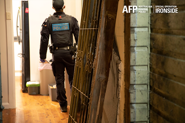 Article image for Running scared: Drug importer turns themself in following Ironside bust