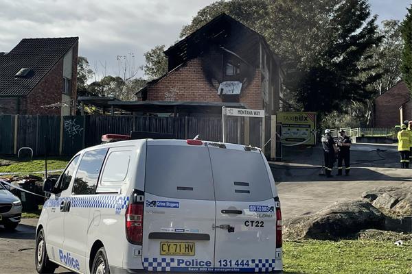 14-year-old boy killed in suspicious Sydney house fire