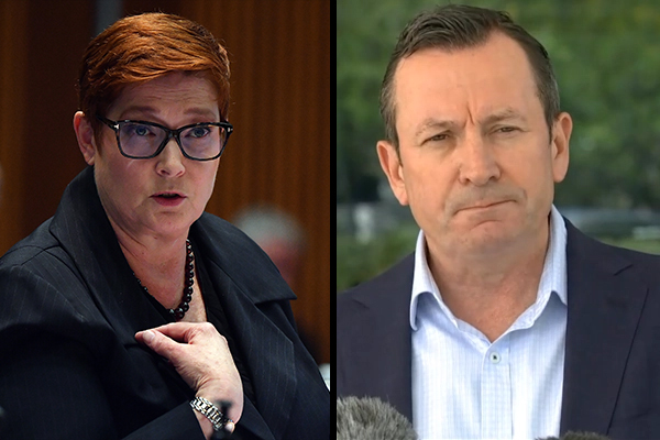 Article image for Foreign Minister rejects WA Premier's accusation over China dealings