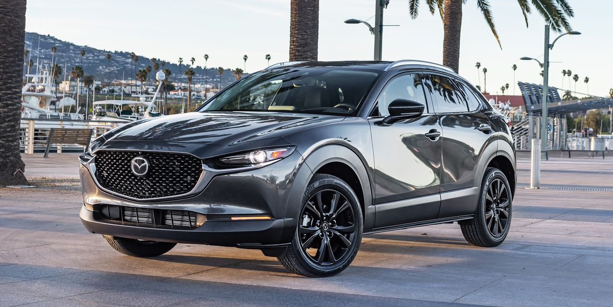 Mazda's CX-30 SUV – the right package size for a small family.