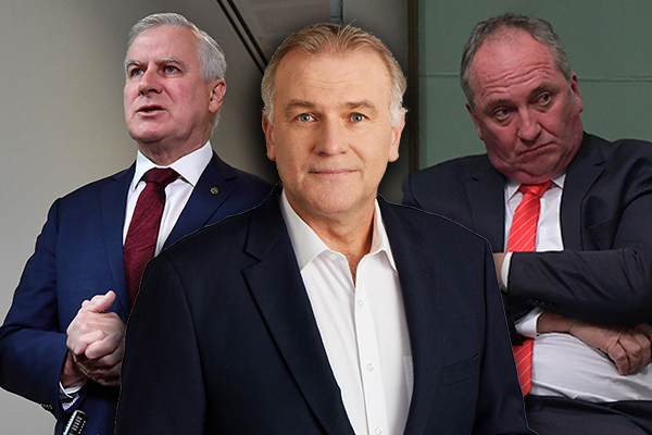 Article image for 'Our bush deserves the best': National Party's cupboard bare of leadership potential